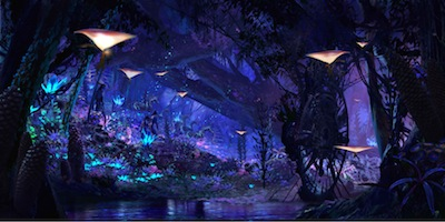 Na�vi River Journey in Pandora Rendering
