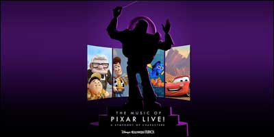 Music of Pixar Live at Disney's Hollywood Studios