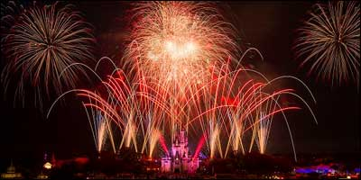 Happy Independence Day from Disney World
