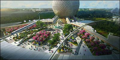 New Epcot Entrance & Transformation Announced!